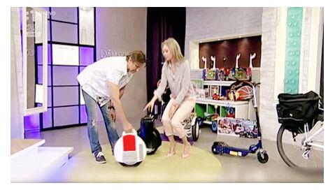 irwheel独轮车两轮平衡车登陆斯洛伐克电视秀高岁十八女生长怎么图片