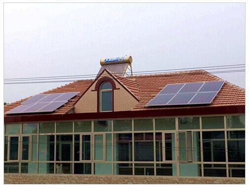 太阳雨推出太阳能生活新方式--家庭太阳能电站