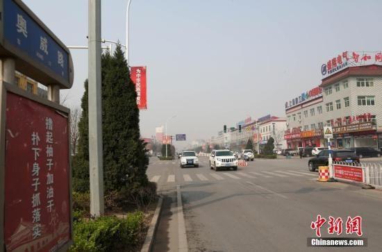 资料图:雄安新区街景。 韩冰 摄