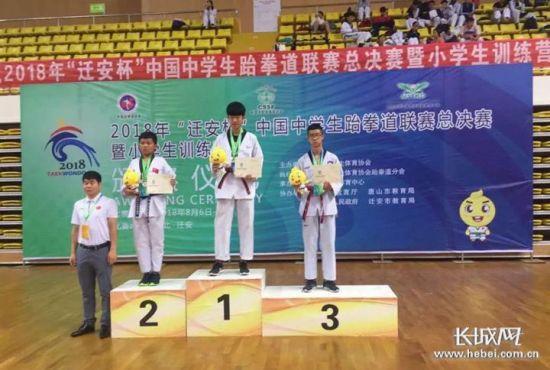 陈斌荣获男子竞技68公斤级银牌。图片来源于网络