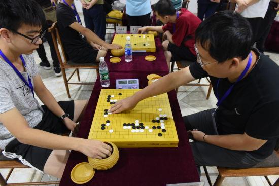 2018年河北省围棋联赛在深州举行