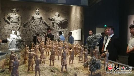 9月9日,张家口市第二届旅游产业发展大会闭幕式在张家口涿鹿县举行。图为涿鹿博物馆。 记者刘雅静摄