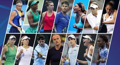 2018年中国网球公开赛星阵容