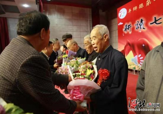 10月28日,平乡县第一中学举行70周年校庆。 通讯员柴更利摄