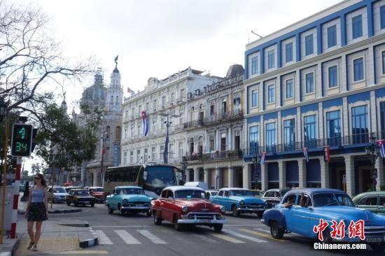 《奇遇人生》拍摄地之一――古巴哈瓦那 中新社记者 莫成雄 摄