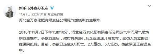 河北省石家庄新乐市外宣办官方微博截图