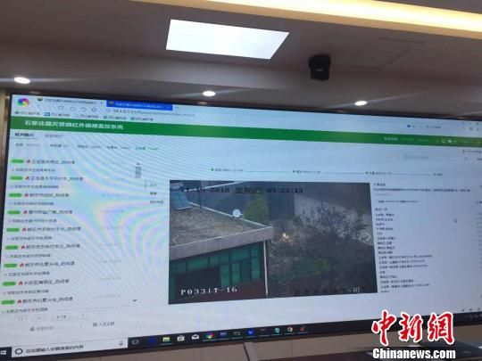 秸秆禁烧视频监控和红外报警系统 李茜 摄
