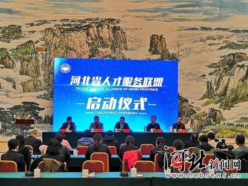 11月16日,河北人才服务联盟启动仪式在石家庄举行。图为活动现场。 记者王萌摄