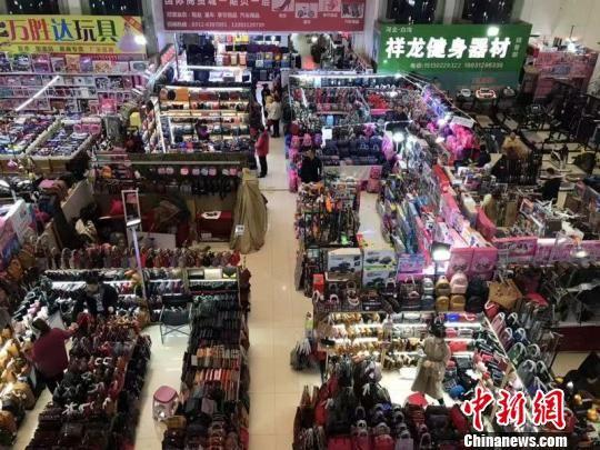 白沟国际商贸城。 韩新新 摄