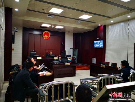 新闻媒体及20名人大代表、政协委员走进审判庭旁听。