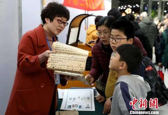 河北省第二届文房四宝艺术博览会现场。 张晓峰 摄