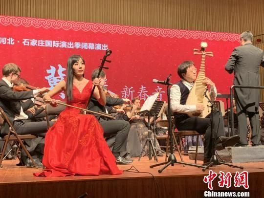 中俄艺术家共同演奏《白帝幻想曲》。 主办方供图 摄