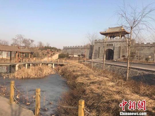 金村是滏阳河的发源地,经过水治理后,已经成为了景区。 张帆 摄