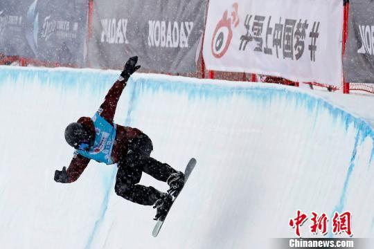 图为崇礼举办的滑雪赛事。崇礼区委宣传部提供