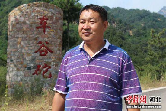 灵寿县车谷砣村党支部书记陈春芳。 刘建书 摄