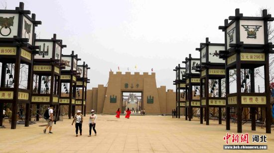 中山国灵寿古城遗址公园。 俱凝搏 摄