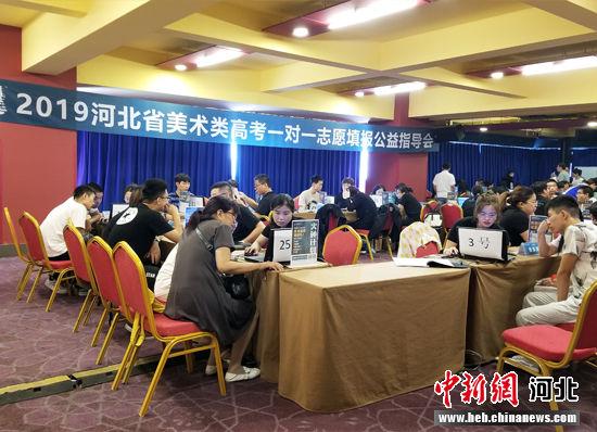 河北省第三届公开美术类一对一志