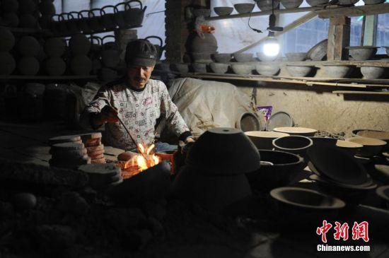 探访河北非遗:蔚县古老的青砂器