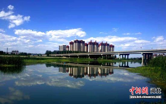 平山县城建设日新月异。 平山县委宣传部供图