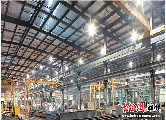 馆陶金环钢构。 馆陶县委宣传部供图
