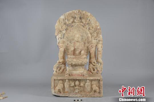 坐佛五尊像 邺城考古队供图