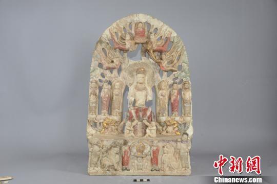 弥勒七尊像 邺城考古队供图