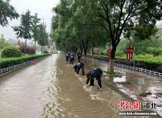 卢龙县积极应对确保不发生灾祸事故。 供图
