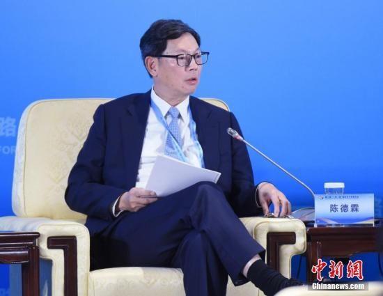 资料图:香港金融管理局总裁陈德霖。中新社记者 侯宇 摄