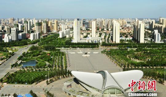 沧州市城市建设一瞥。 苑立伟 摄