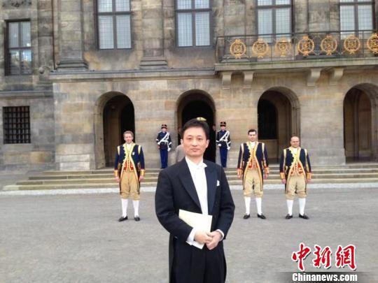 荷兰《联合时报》社长陈光平。受访者供图