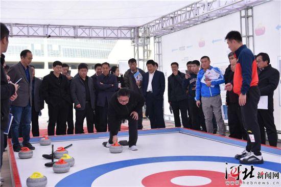 2019河北省滑冰场馆投资建设洽谈会达成诸多合作意向