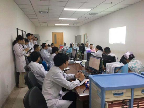该院定期组织各级医务人员参加专题培训,加强医务人员对VTE的认知和防范意识。 河北省中医院供图