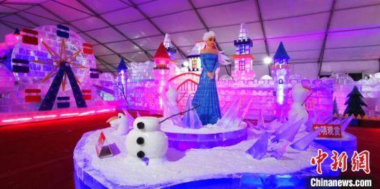 冰雕艺术展 张桂芹 摄