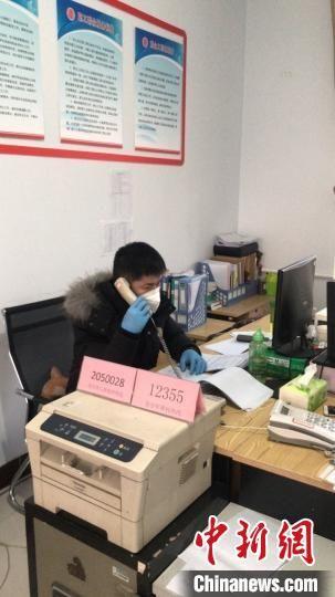 各地开展抗疫心理援助 河北省民政厅供图 摄