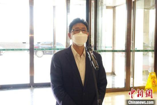 衡水市委书记王景武讲话。 王鹏 摄