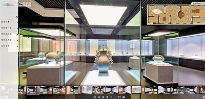 疫情期间,河北博物院数字展馆广受关注。 河北日报记者 龚正龙摄