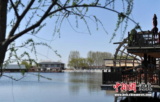 图为雄安新区安新县大淀头村美景。