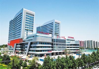 5月28日拍摄的石家庄市儿童医院。河北日报记者 赵海江摄