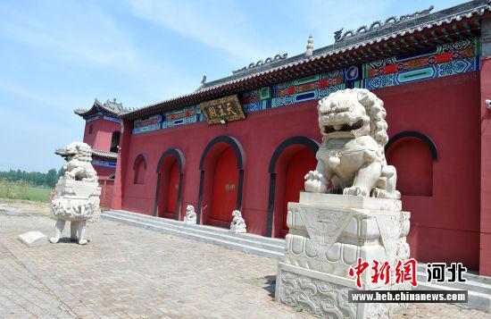 图为安州镇天宁寺。 韩冰 摄