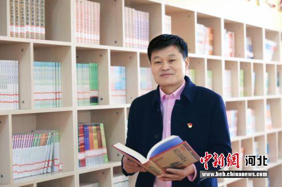 平乡县第二中学校长王赞岭。 平乡县教育局供图