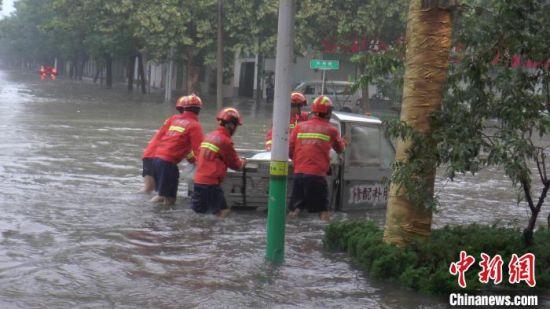 河北发布今年首个暴雨橙色预警