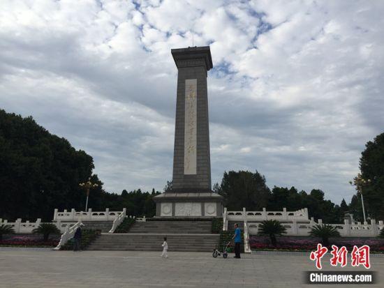 华北军区烈士陵园 李茜 摄