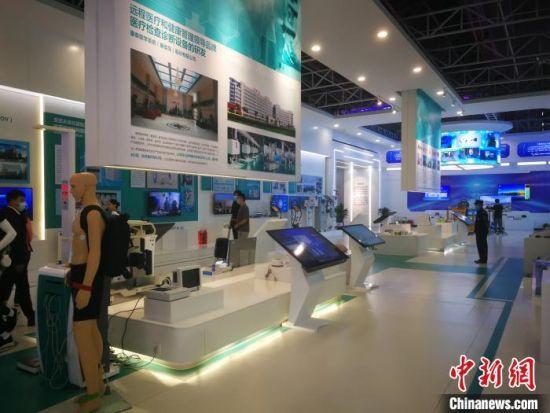 河北省科技成果展示交易中心展出290项科技成果,展示了河北科技创新硬核实力 李晓伟 摄