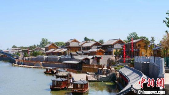 开河马头是邯郸市第一个以漕运文化为载体的水文化风景区。 刘佳琪 摄