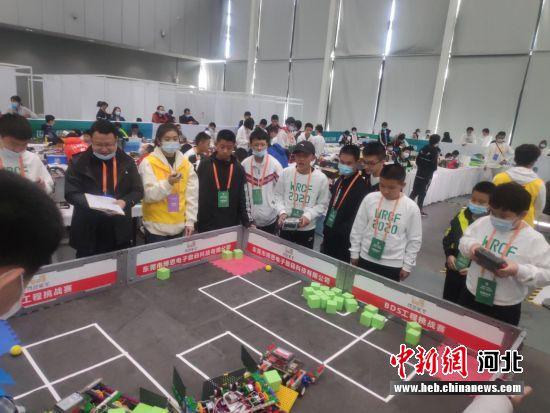 图为比赛现场。 唐县县委宣传部供图