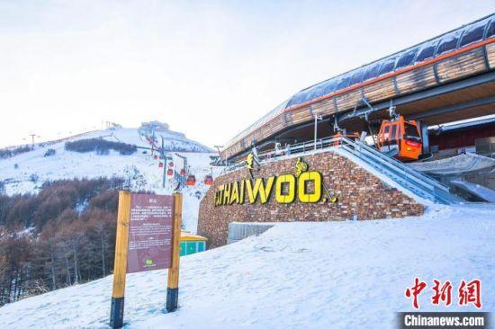 图为崇礼太舞滑雪小镇。 吴聃 摄