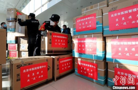2021年1月9日,北京核酸检测医疗队驰援河北邢台南宫。 张宇 摄