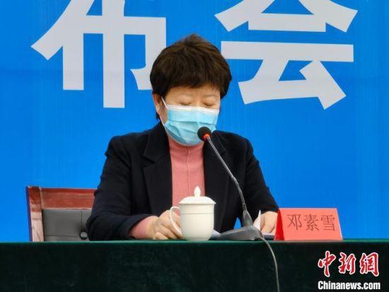 邢台市人民政府副市长邓素雪。 张鹏翔 摄