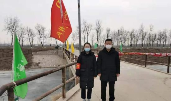 """冀州大学生志愿者亮出青春底色""""温暖湖城""""。 供图"""