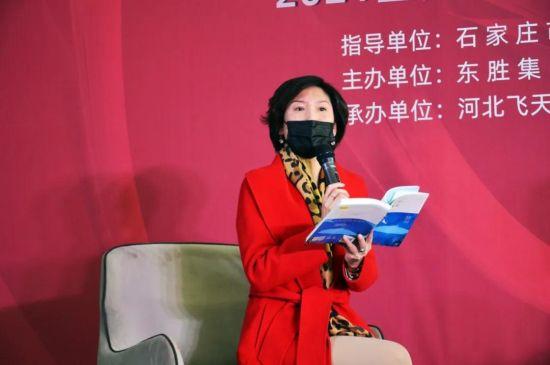 石家庄市舞蹈家协会副主席、中国舞蹈家协会金牌教师封烨读书分享。 供图